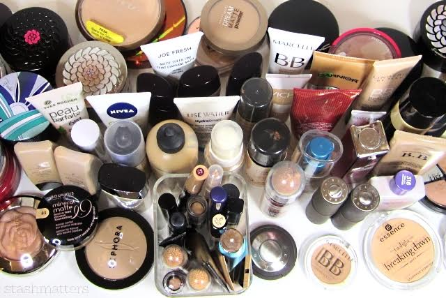 I need to purge probably 50% of my foundations.